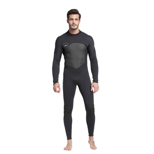 Image 5 - Mens 5mm Black/Grey Wetsuit for Scuba Diving Surfing Fullsuit Jumpsuit Wetsuits Neoprene Wet Suit Men in 5 millimetre