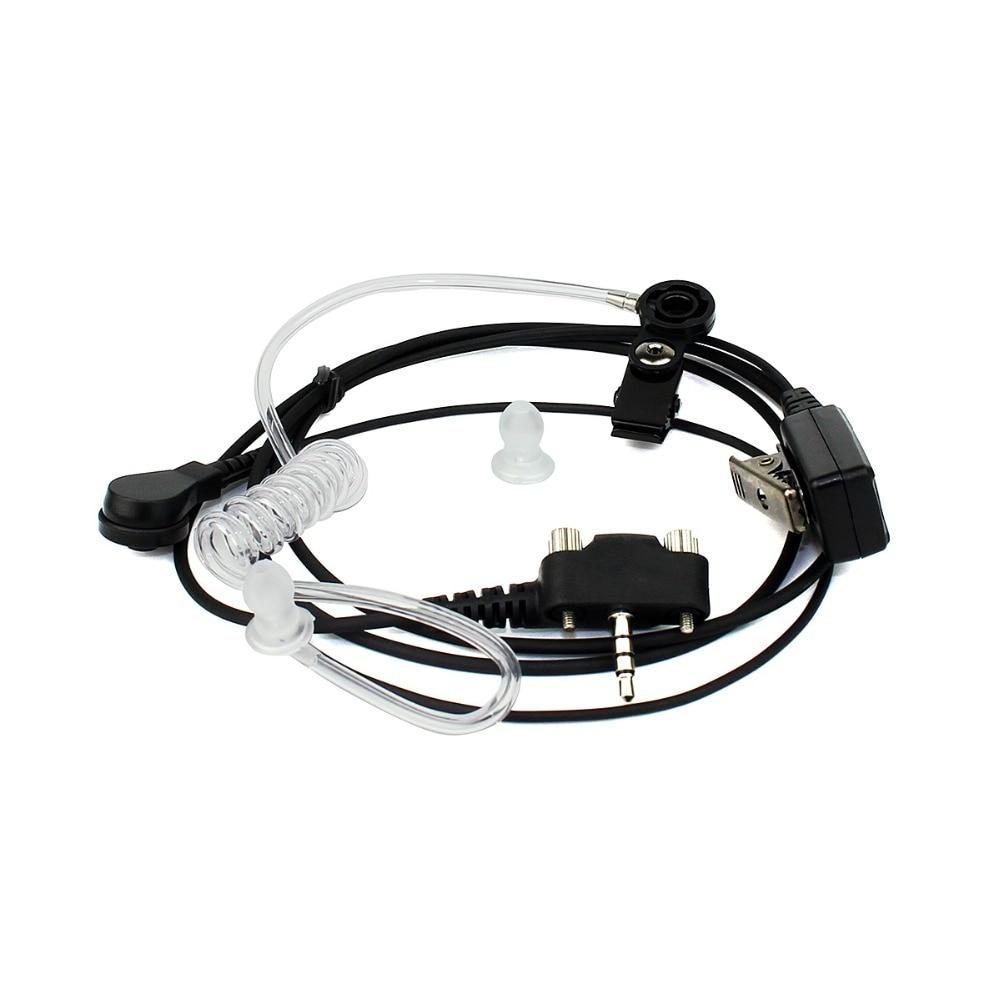 MT201B-PY02 Acoustic Tube Earpiece Headset For YAESU/VERTEX VX-140 VX-400 Walkie Talkie Ham Radio Hf Transceiver J6277A