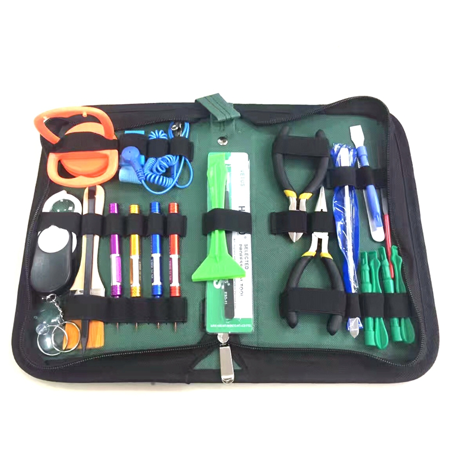 21 in 1 Profession Mobile Phone Tool Kit for iPhone 7 Repair Tool Kit Opening Disassemble Hand Tools Profession Phone Tool Kit 7 42 17s2203070 n28125 used disassemble