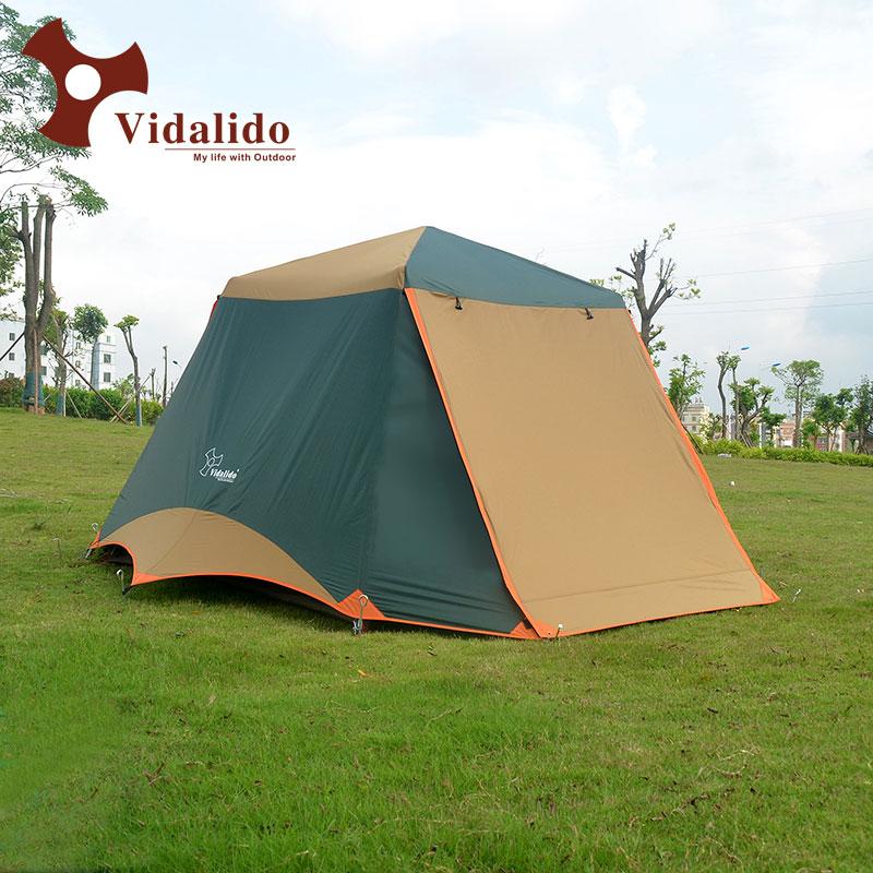 Upgrade neue freies bauen 2 türen 3-4 personen voll automatische zelt automatische camping familie zelt in gute qualität familie reise zelt