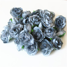 hot deal buy artificial dried flowers dried plants black rose for corsage car weddings decoration home fake plant paper craft rose eternelle