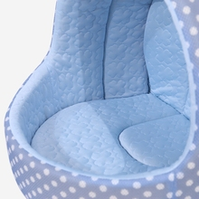 PAWZRoad Pet Cat Bed For Cooling Dog Soft Washable Breathable Summer Cat house For Puppy Kitten Pet Kennel Cushion High Quality