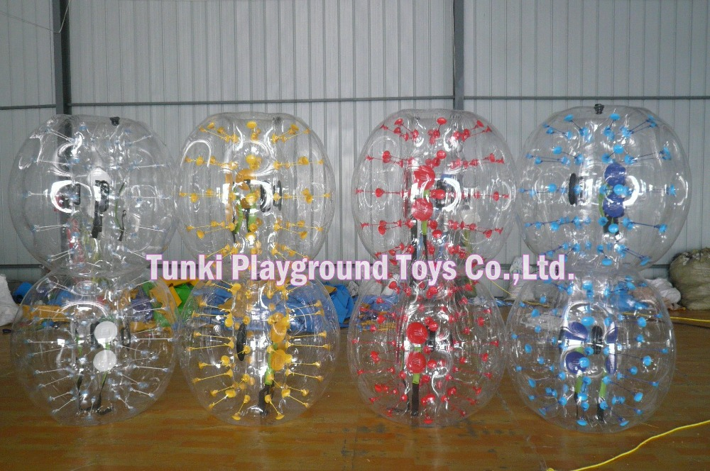 1.2m inflatable bubble soccer football suit1.2m inflatable bubble soccer football suit