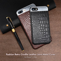 Leather Crocodile Stripe 3