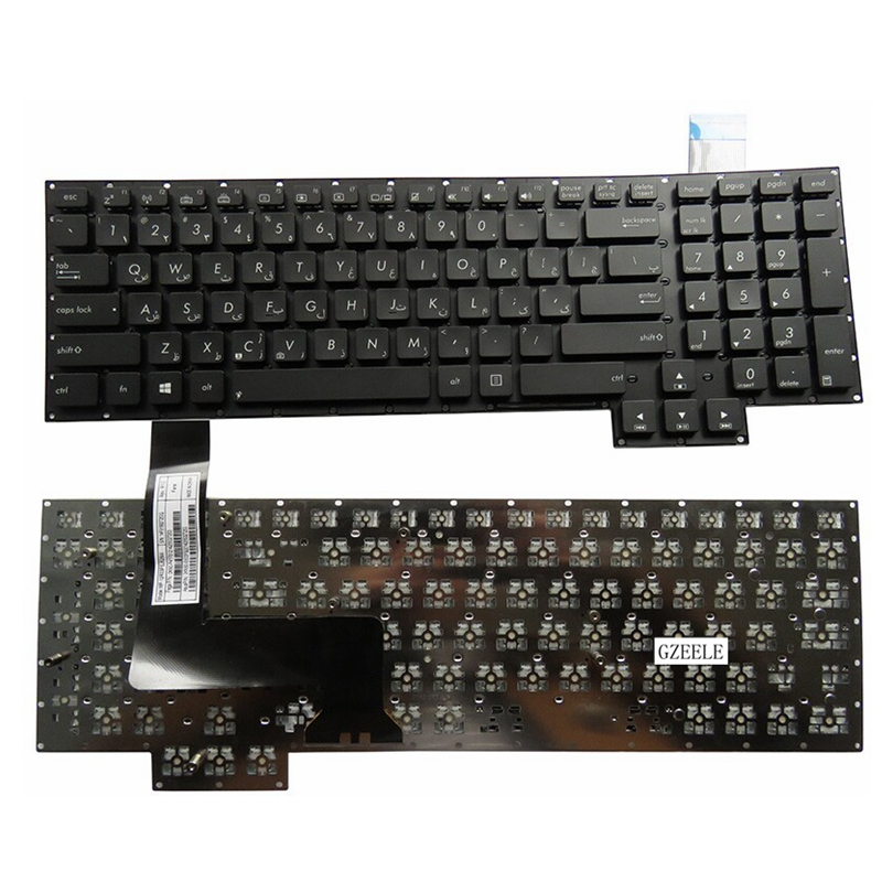 NEW Keyboard FOR  ASUS G750  G750J  G750V  foreign language Without Borders   laptop keyboard laptop keyboard for acer silver without frame bulgaria bu v 121646ck2 bg aezqs100110