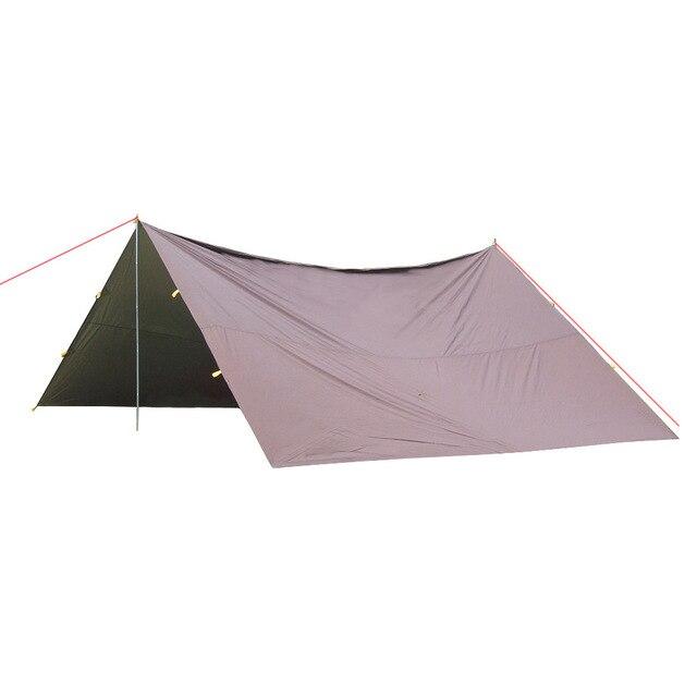 Wnnideo Sun Shade Lightweight Canopy Portable Beach Sun Shelter Camping  Tent 5*3cm ZS
