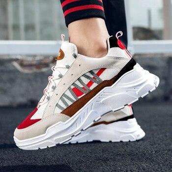 32a58ba38 Product Offer. YRRFUOT/мужские модные кроссовки, Осенние новые мужские  повседневные туфли ...