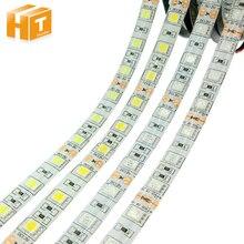 Светодиодные ленты 5050 DC12V 60 Светодиодный s/m гибкий светодиодный светильник RGB/RGBW 5050 Светодиодные ленты 300 светодиодный s 5 м/лот