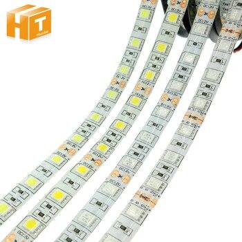 Светодиодная лента 5050 DC12V 60 светодиодов/м гибкий светодиодный светильник RGB RGBW 5050 Светодиодная лента 300 светодиодов 5 м/лот