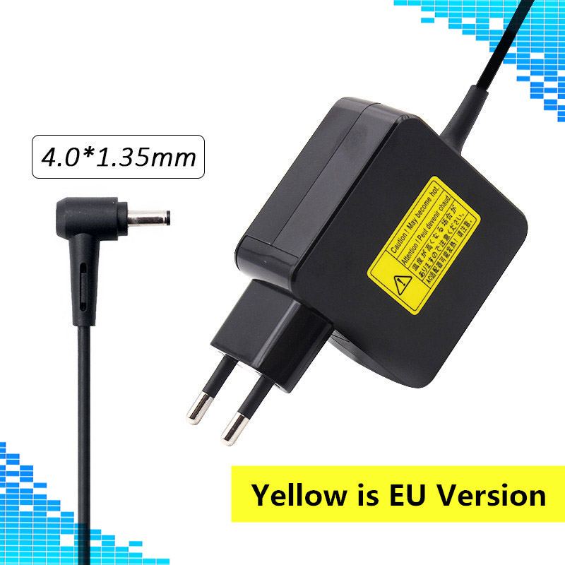 4.0*1.35mm 19V 2.37A 33W Power AC Adapter Charger For Asus C300MA X200CA X200MA X200LA X201E X202 X202E Laptop factory price 19v 1 75a 33w laptop ac power adapter charger for asus eeebook x205t x205ta