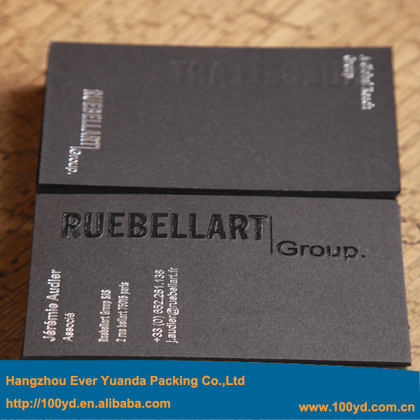 Top quality popular black paper business cards spot uv and debossed top quality popular black paper business cards spot uv and debossed printing process customized fashionable visit card name card in business cards from reheart Choice Image