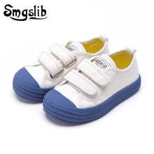 Kids Canvas Shoes Baby Girls Casual Sneakers 2019 Fashion Spring Autumn Boys Shoes Baby White Shoes Children Sneakers