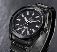 relogio masculino Naviforce fashion casual sports watch men full stainless steel quartz wristwatches Luxury waterproof watch men