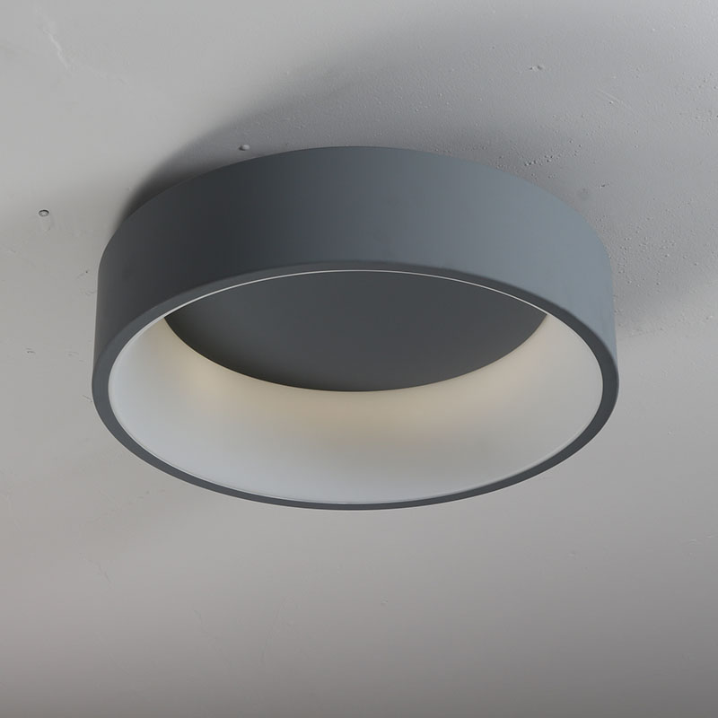 Modern Round Circle LED Ceiling Light Ceiling Mounted Circular Ring Lamp for Foyer Bedroom Kitchen Decor Lighting Fixture
