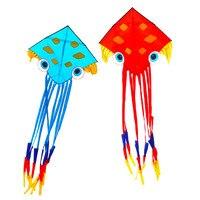 Free shipping high quality 7m large octopus kites toy nylon ripstop fish kite string ancient chinese kite for adults carpe koi