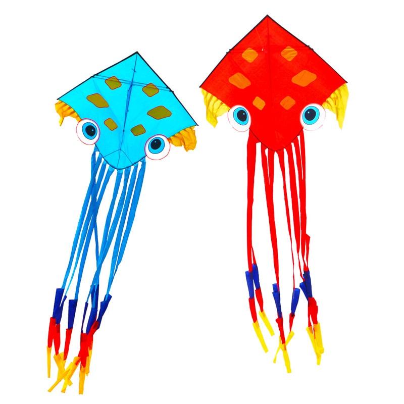 Livraison gratuite haute qualité 7 m grand pieuvre cerfs-volants jouet nylon ripstop poisson cerf-volant chaîne antique chinois cerf-volant pour adultes carpe koi