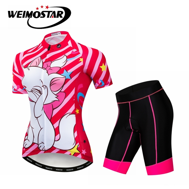 Women s Cycling Jersey Summer Racing Bicycle Clothing Sets Ropa Maillot  Ciclismo Bike Clothes GEL Padded Female 7ef568aec