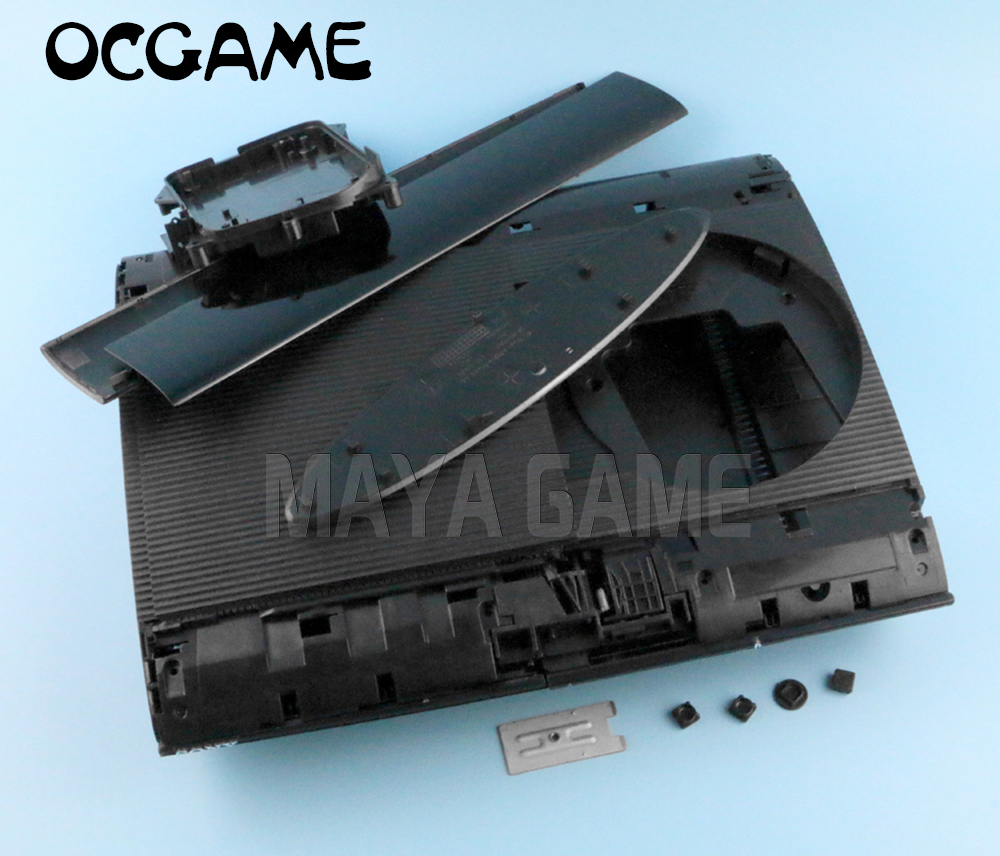 Black High Quality Full Housing Case For PS3 Super Slim 4000 4XXX Console Shell Cover OCGAME
