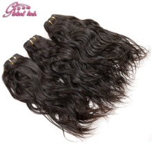 Gluna Hair 3Pcs lot raw virgin hair Brazilian Natural Wave No Tangle No Shed water wave brazilian hair  Weave Bundles Women Hair