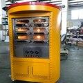 220 В 6 кВт электрическая плита из нержавеющей стали  двухслойная печь для шлема  контроль температуры  новая закуска  сковорода  шлем  оборудо...