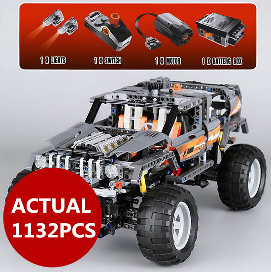 Lepin 20030 Technic Ultimate Series The Off-Roader Set Children Educational Building Blocks Bricks Toys Model Gifts 8297 lepin 20030 1132pcs technik ultimate off roader cars legoingly 8297 sets building nano block bricks toys for boy gifts