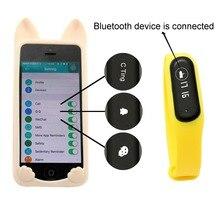 Фитнес аксессуар Беспроводной IP65 Водонепроницаемый сердечного ритма Мониторы шаги сожженных калорий трекер для iPhone Samsung и т. д.