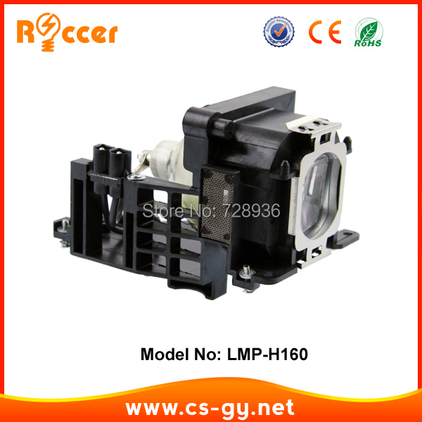 Replacement Compatible Projector Lamp Bulbs LMP H160 for SONY VPL AW10 / AW15 HSCR 165W