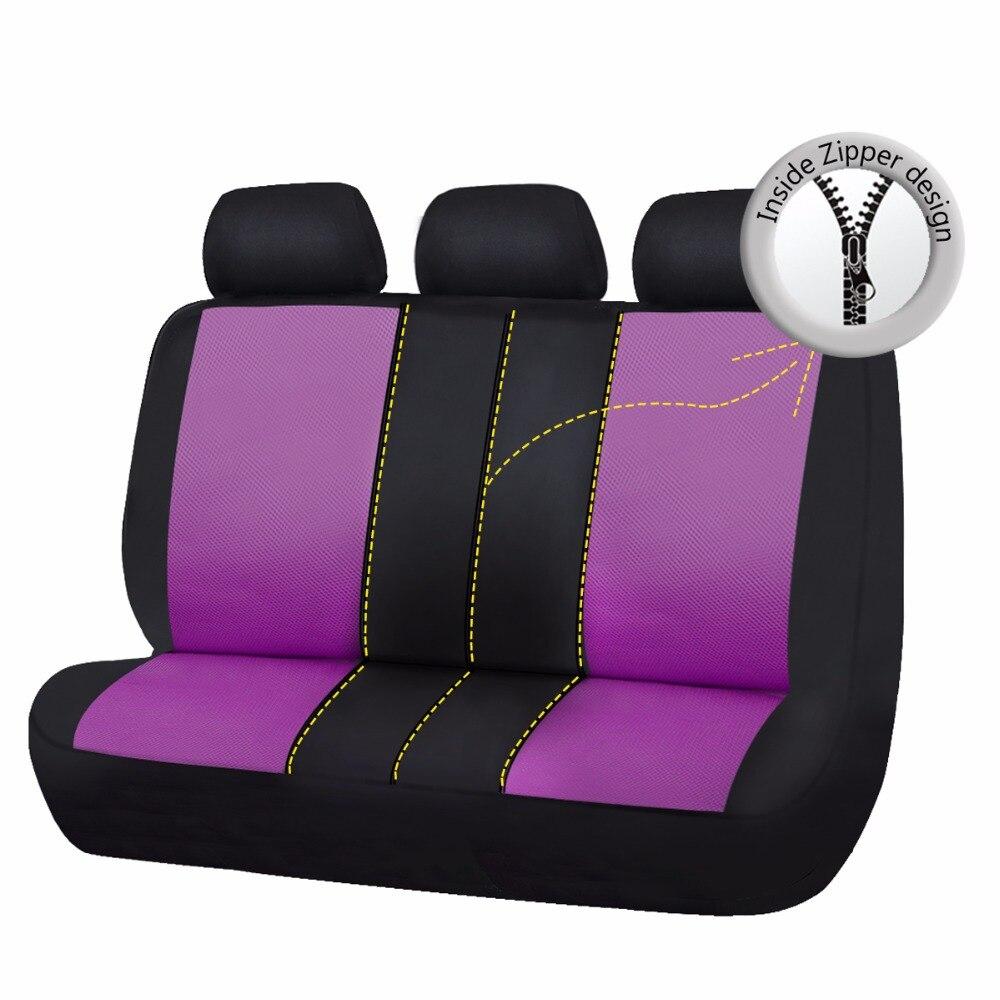 2018 Nuevo Asiento de Coche Cubierta de Impresión de Mariposa Rosa - Accesorios de interior de coche - foto 6