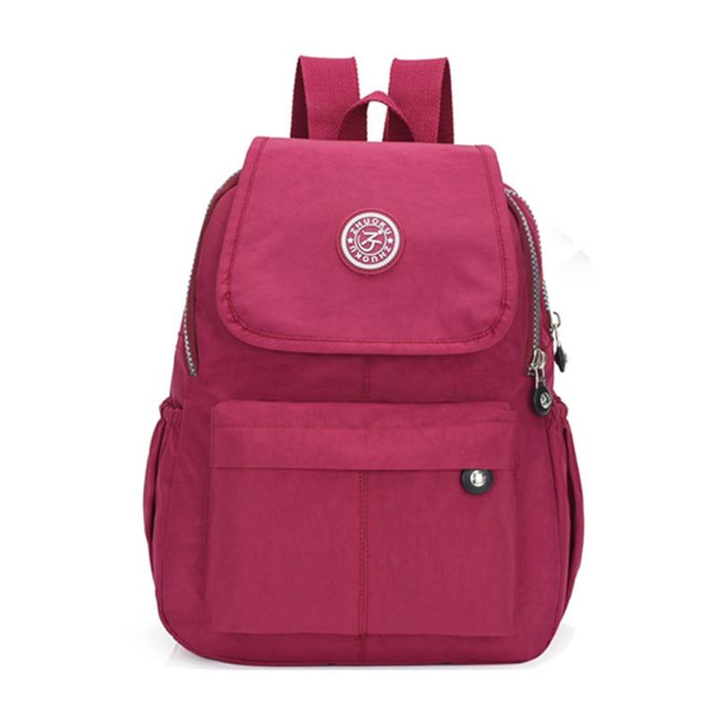 Nylon Women Backpack Fashion Backpacks For Teenage Girs Daily Causal School Bags Men/Women Backpacks Shoulder Bag Pack