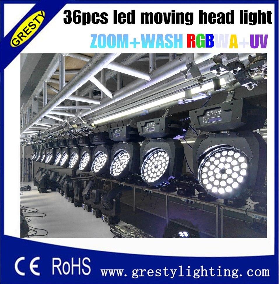 Freeshipping 2XLot 36 հատ 18W RGBWAUV գույնի խառնիչ - Կոմերցիոն լուսավորություն - Լուսանկար 2