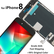 Mobile Phone Repair Grade AAA Screen for iPhone 7 8 6S LCD Display Touch Digitizer Assembly Replacement 3D Touch free shipping yelping 3 in 1 grade a quality for iphone 6s lcd frame touch pad free gift digitizer assembly