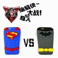 3D мультфильм Новый стиль телефон чехол супер герой бэтмен супермен силиконовый чехол принципиально для iPhone 4 4S 5 5S SE 6 6 s 6 плюс 6 s плюс
