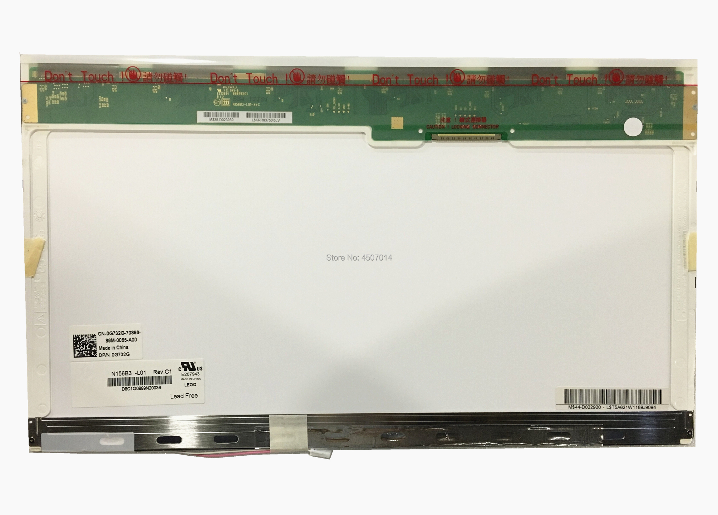 Free Shipping N156B3-L01 L02 L04 CLAA156WA01A N156B3-L0B B156XW01 V.0 V.1 LP156WH1-TLE1 Laptop Lcd Screen 1366*768 30 Pins