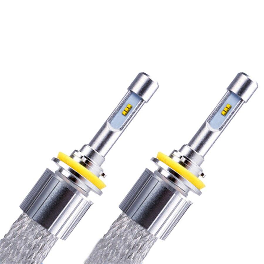 Prix pour Car Styling H1 H3 H4 H7 H8 H9 H11 HB3 HB4 9005 9006 9012 LED Phare 96 W 11520 Lumen Ampoule Kit De Conversion de lumière Automobile lampe