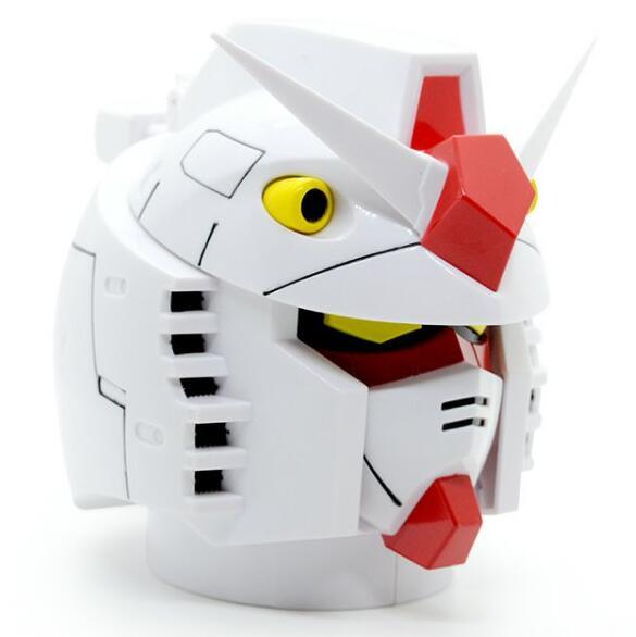 Creative Gundam RX-78-2 Head Plastic + Stainless Steel Mugs Cup Office Water Cup Coffee Cup Mug 350ml dřevěné dekorace do dětského pokoje