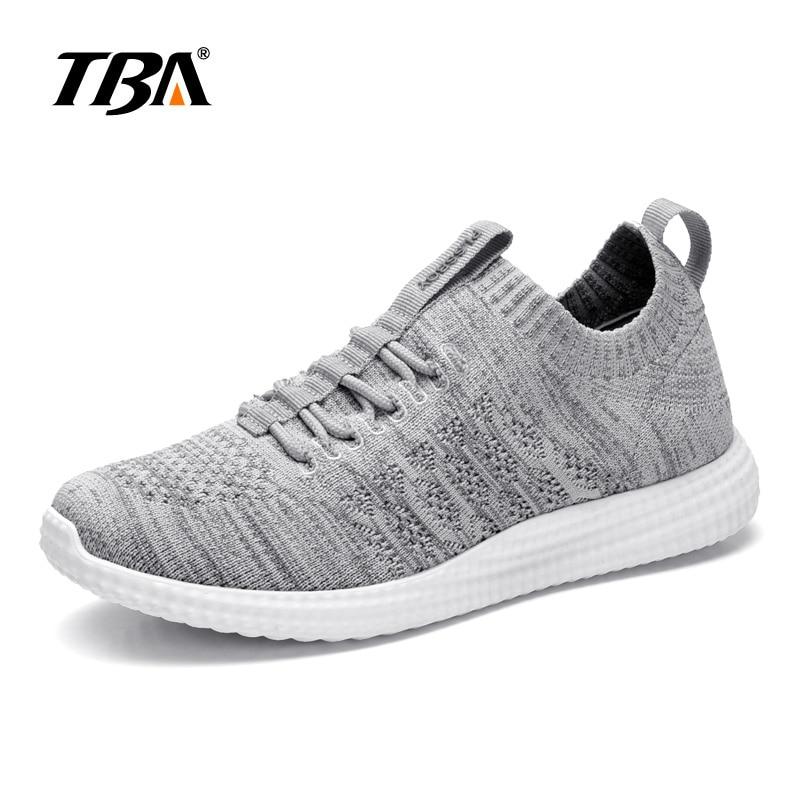 Лето 2017 г. tba свет носить кроссовки для Для мужчин Прогулочная обувь из дышащего материала для студентов черного цвета шерсть обувь Размер ... ...