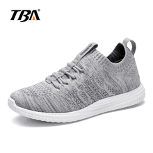 2017 Summer TBA light wearing running shoes for Men breathable walking shoes for student black colors wool shoes size 6-11 2017 tba 1515 men s breathable korean version trend flats summer autumn genuine leather student fashion all match walking shoes