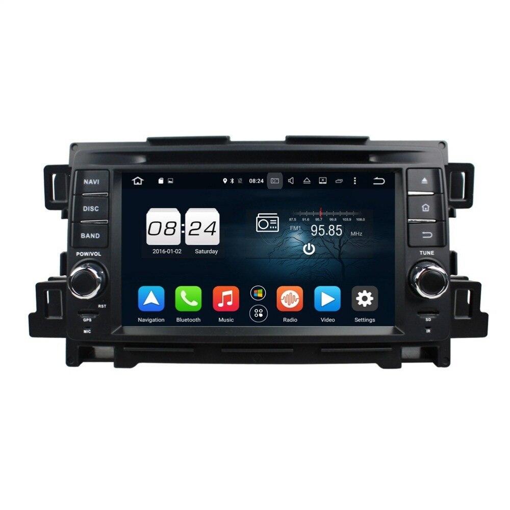 Octa core 2 din 7 android 6 0 car radio dvd player for mazda cx