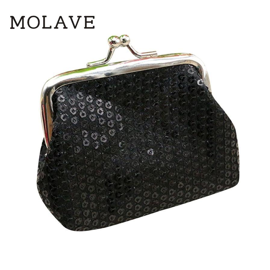 Brand new Fashion Women's Sequins Coin Purse Hot small women Wallets Clutch Buckle Handbag Bags Gift 1pcs Dec6 цена