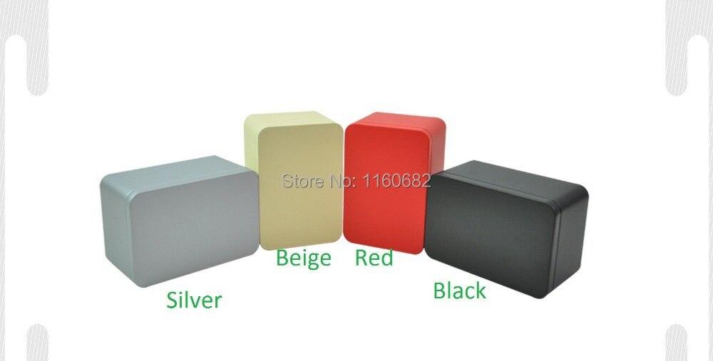 14,5 * 10 * 8cm obdélník čaj cín krabice / šperky skladovací krabice / dárkové nádoby