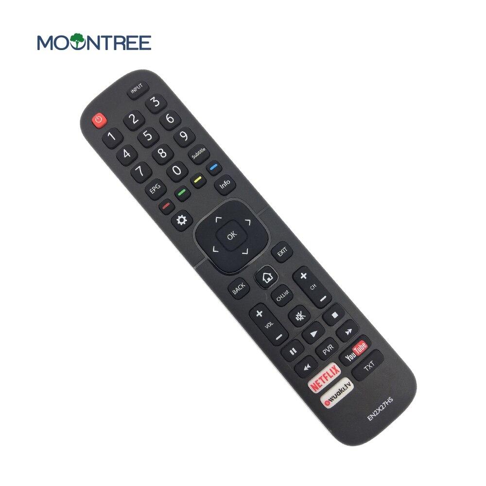 EN2X27HS сменный пульт дистанционного управления для Hisense smart tv с Netflix You трубкой 43K300UWTS0100 49K300UWTS 55NEC5200 65K5500UWTS