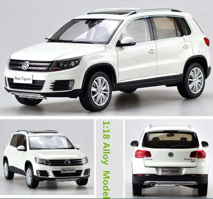 Volkswagen 2015 Tiguan: Original 1:18 Advanced Alloy Car Models, High Simulation