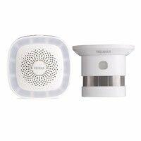 HEIMAN Smoke Detector WiFi Alarm System Zigbee 2 4G Alarm Kit For Fire Alarm