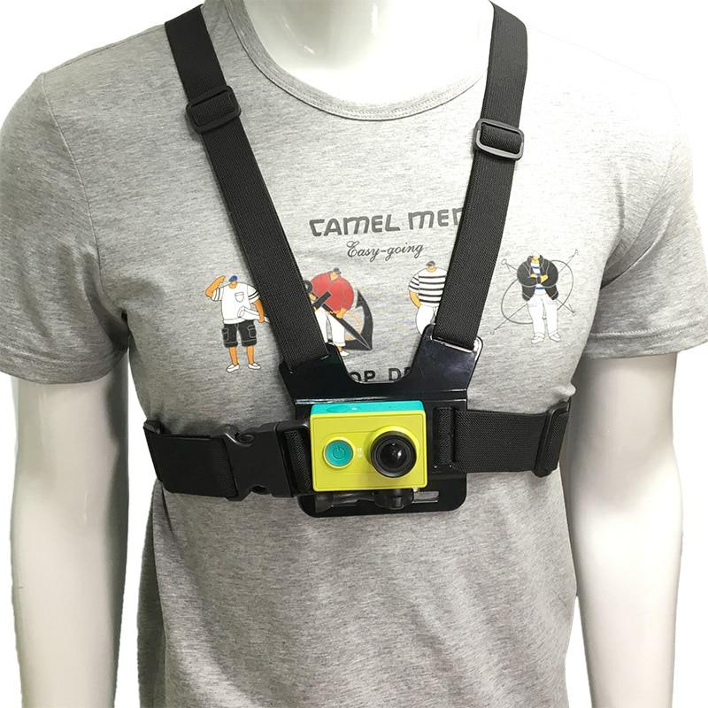 Adjustable Chest Belt Strap Chest Mount Harness For GoPro Hero 7 6 5 4 3+ SJCAM Xiaomi YI 4K Lite Mijia MIni EKEN Action Camera