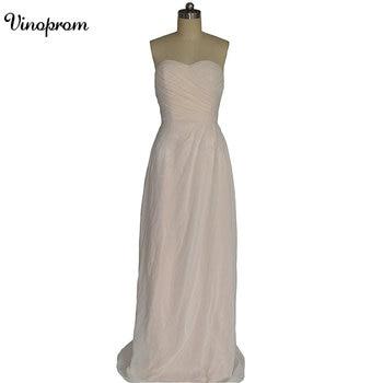 Sheath Chiffon Sweetheart Long Bridesmaid Dresses Sheath Tulle Pleath Long Maid of Honor Wedding Guest Dresses фото