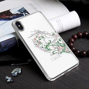 Image 5 - Kingxbar Diamond Cover Dành Cho iPhone X/ XS/ XS MAX Tôn Tạo Với Tinh Thể Từ SWAROVSKI Đính Kim Cương Giả Dành Cho iPhone XS/ MAX