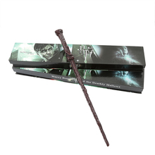 Harri Children Magic Wand trick Metal Iron Core Granger Voldemort Cosplay Game Collection Toys