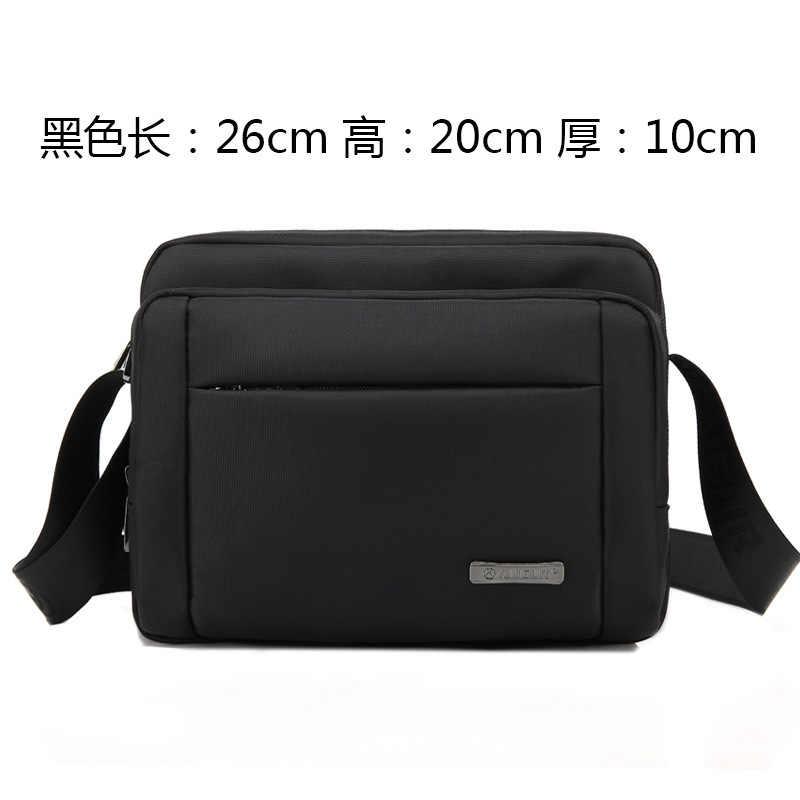 Iş basit omuz çantası Oxford Bez Satchel Resmi Görüşmeleri Taşıma Erkekler İş çantası Takım Elbise Erkek Sıralama Tablet PC