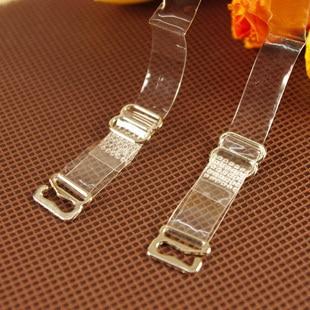 Un verano soleado debe ancho 1 CM alta calidad hebilla de acero en contacto con P71 tirantes transparentes