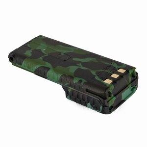 Image 2 - Baofeng UV 5R batterie de Camouflage talkie walkie BL 5 prolongée 3800 mAh 7.4 V Li ion batterie batterie Rechargeable pour Radio BF F8